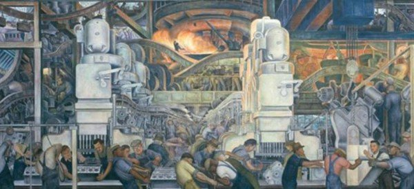July 2013 bruce critchley 39 s mexico here and there for Diego rivera ford mural